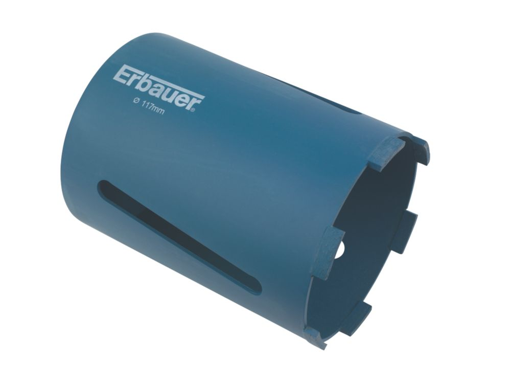 Image of Erbauer Diamond Core Drill Bit 117mm x 150mm