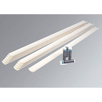Image of Supercove Lightweight Coving 127mm x 2m 12 Pack