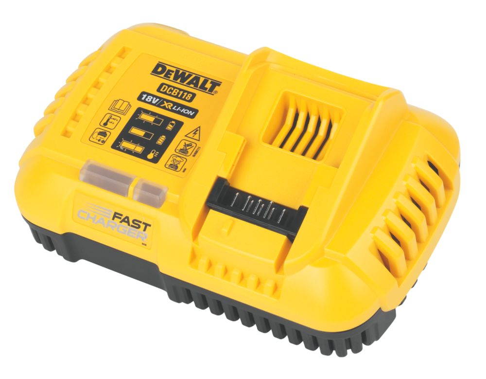 Image of DeWalt DCB118-GB XR Multi-Voltage Fast Charger
