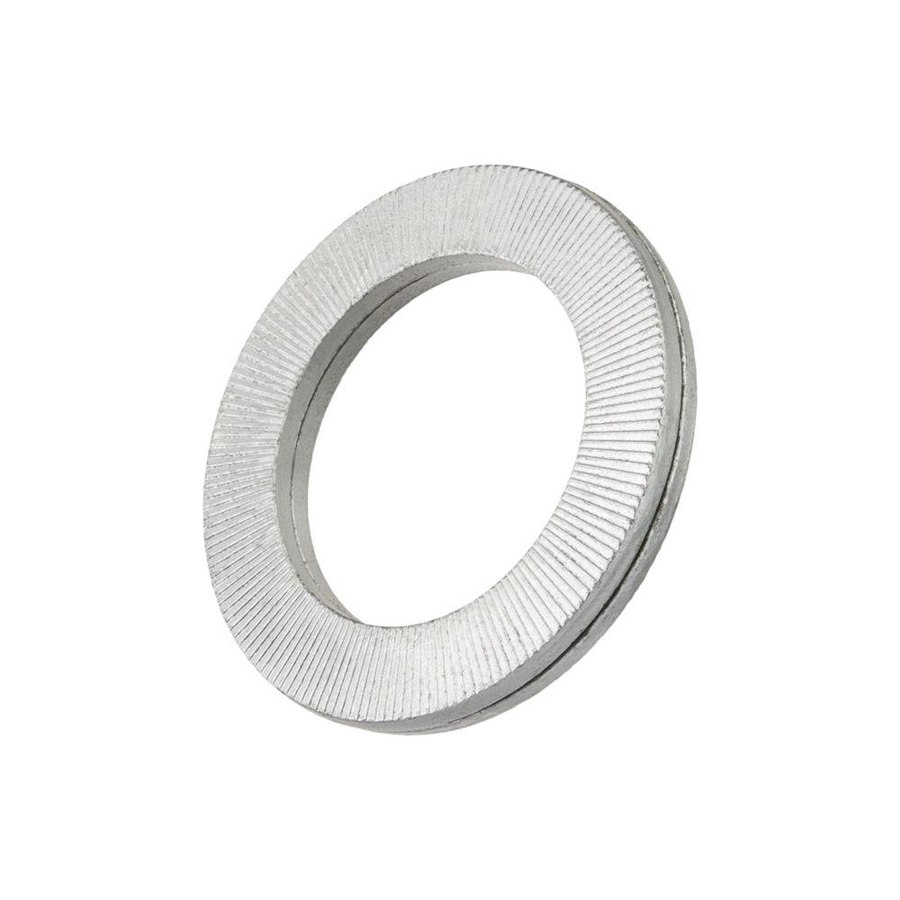 Image of Heico Anti-Vibration Wedge Locking Washers Steel M8 20 Pack