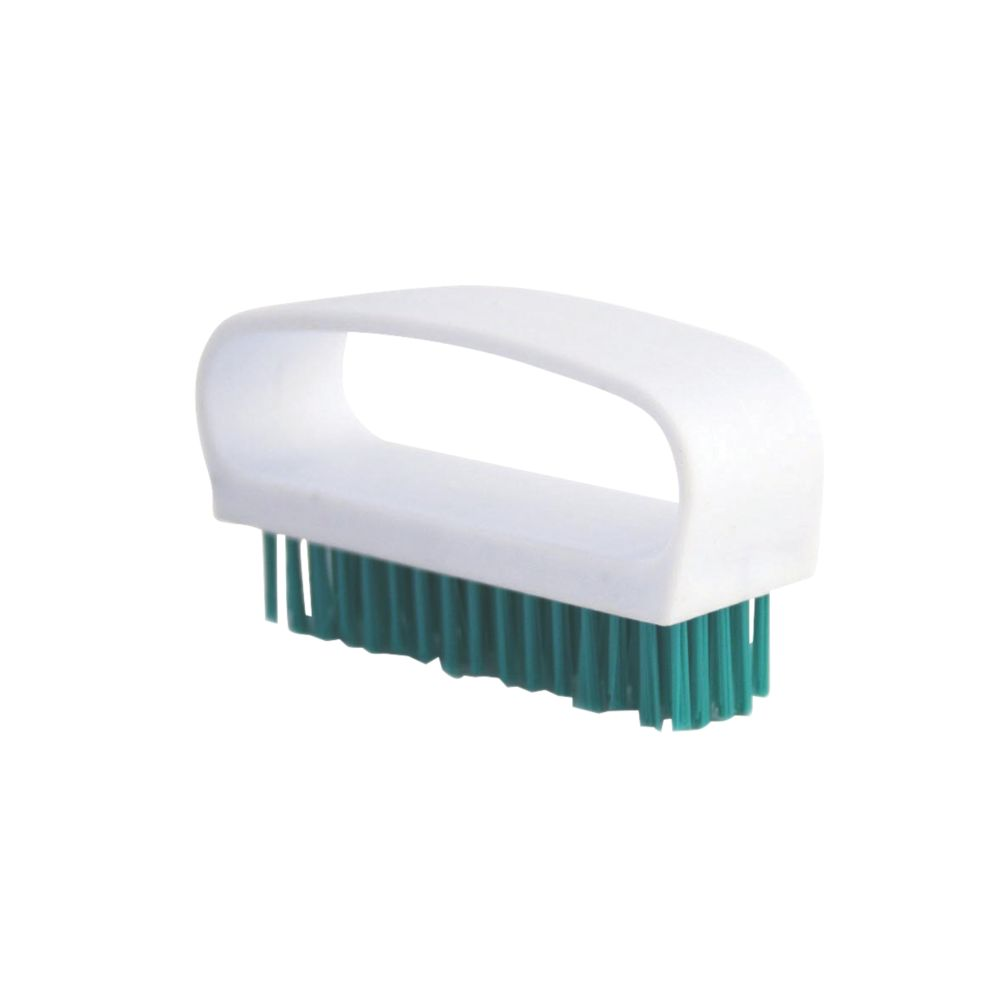 Image of Bentley Bridged Nail Brush Green 6 Pack