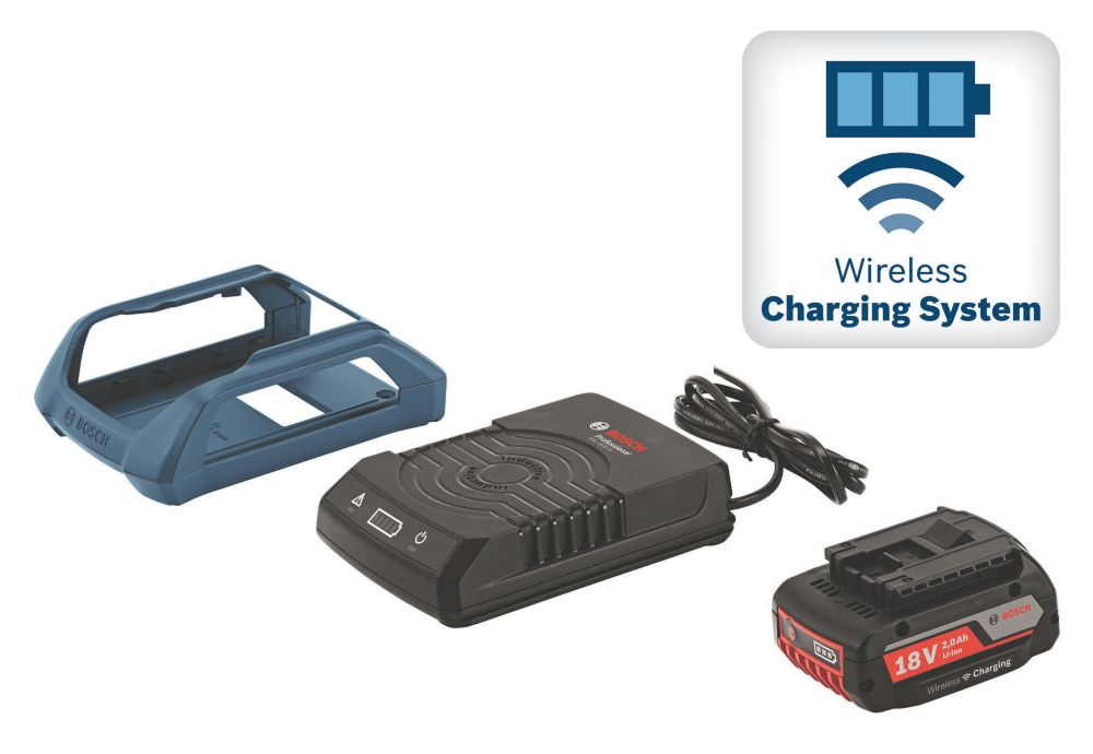Image of Bosch GAL WLC 18V 2.0Ah Li-Ion Battery & Wireless Charger