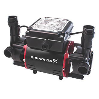 Image of Grundfos 98950216 Regenerative Twin Shower Pump 1.5bar