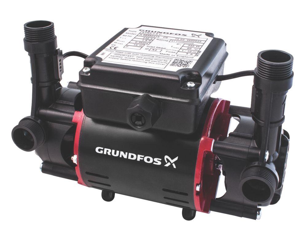 Image of Grundfos 98950216 Regenerative Twin Shower Pump 1.5bar