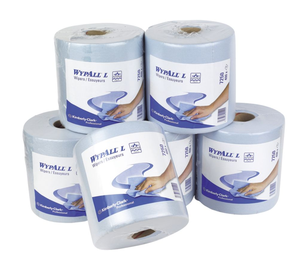Image of Kimberly-Clark Centre-Feed Rolls -Ply x 6 Pack
