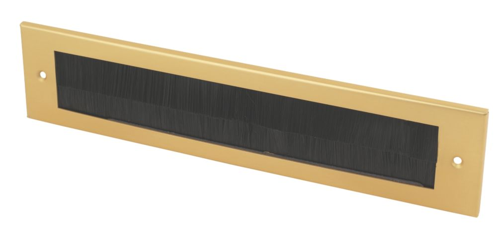 Image of Select Brush Letter Plate Gold Effect 337 x 75mm