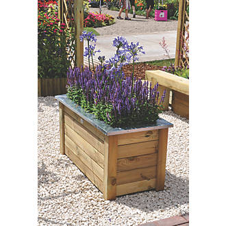 Image of Forest Rectangular Cambridge Planter 1000 x 500 x 500mm