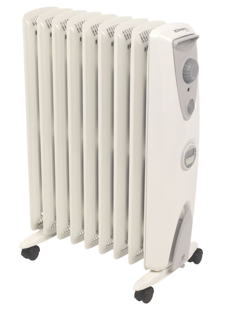 Image of 2KW Oil Free Radiator with Timer OFRC20TIN