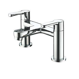 Image of Bristan Nero Dual Lever Bath Filler Tap