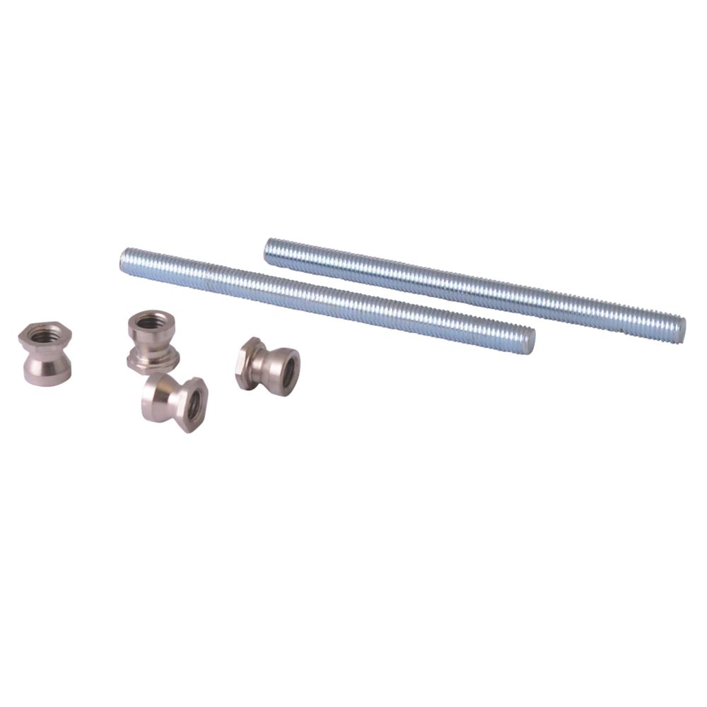 Image of Fab & Fix Back-to-Back Pull Bar Handle Fixing Kit