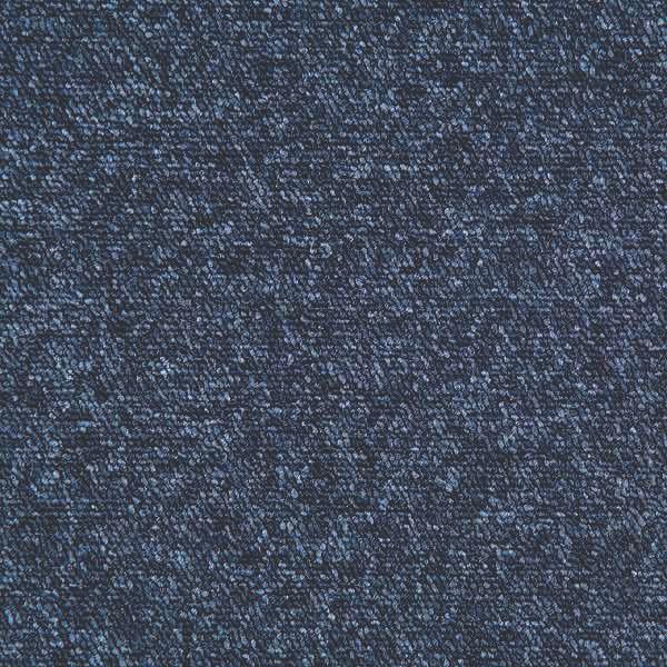 Image of Heuga Universe Carpet Tile Blue Ribband 20 Pack