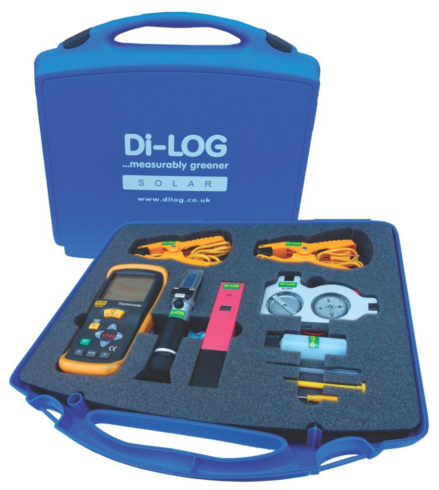 Image of Di-Log Solar Thermal Test Meter Kit
