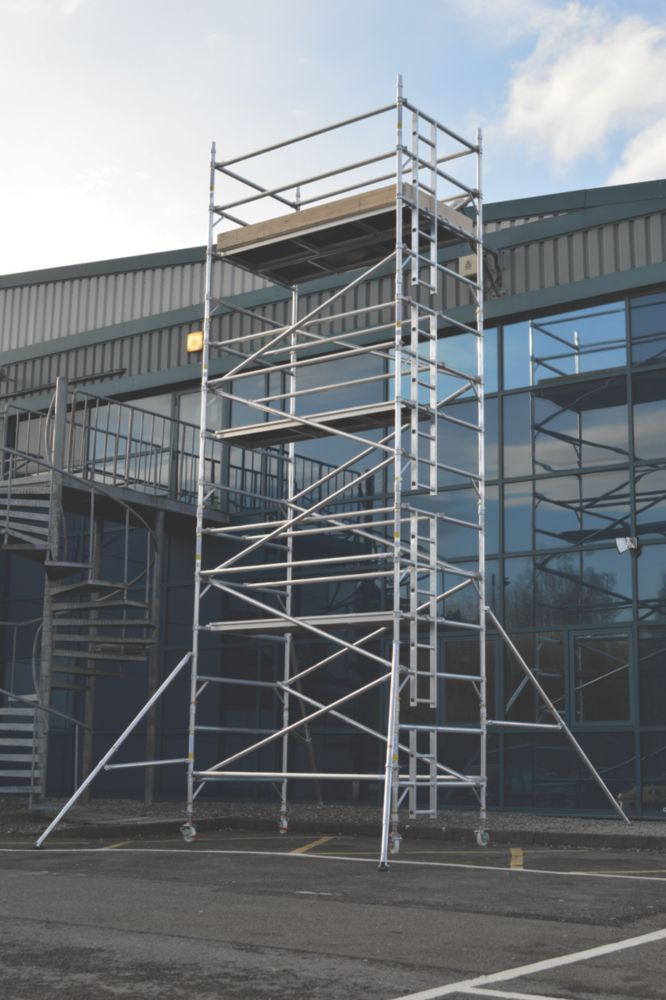 Image of Lyte SF25DW62 Helix Double Width Industrial Tower 6.2m
