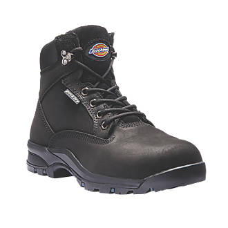 Image of Dickies Corbett Ladies Safety Boots Black Size 8