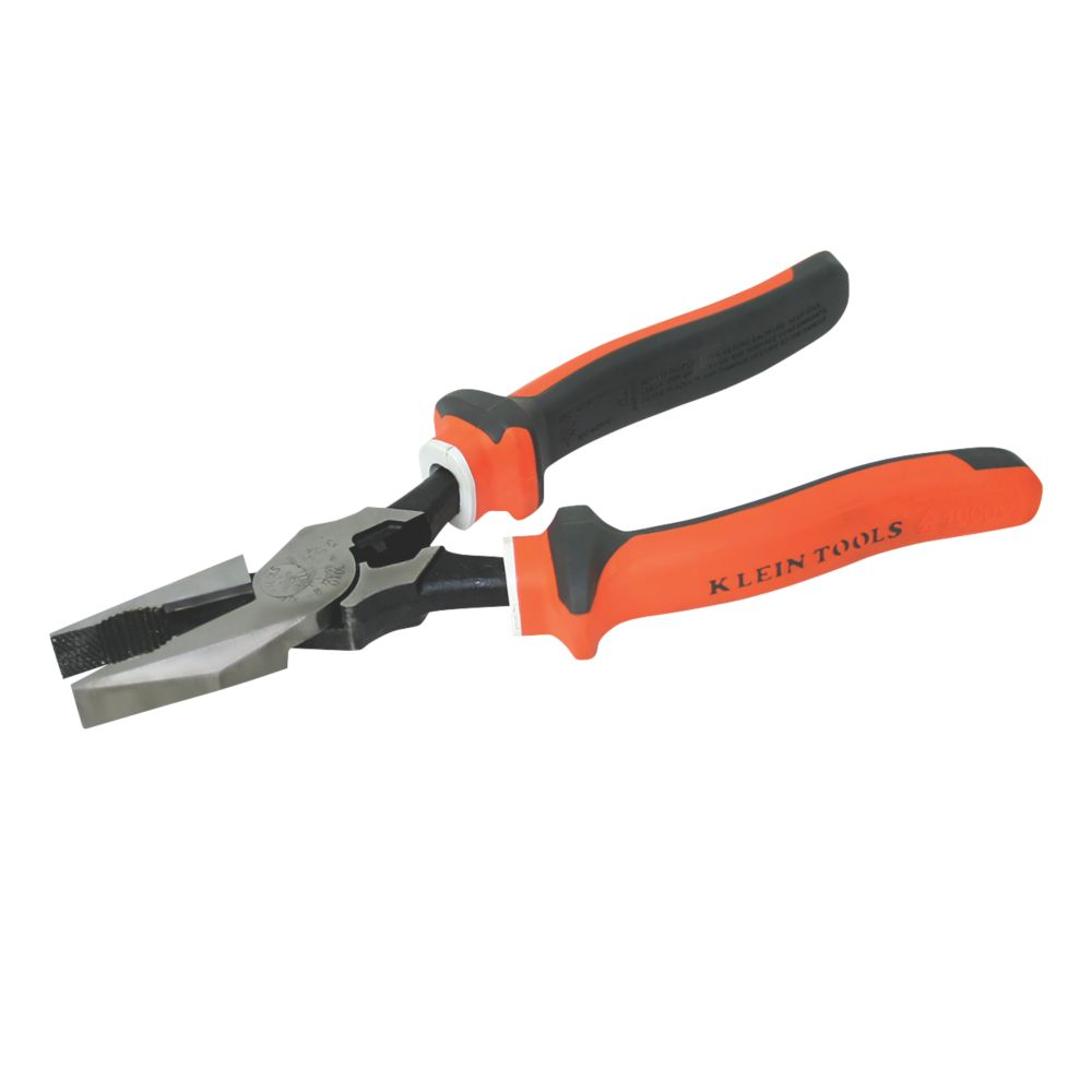 Image of Klein Tools Insulated VDE Combi Pliers 12""