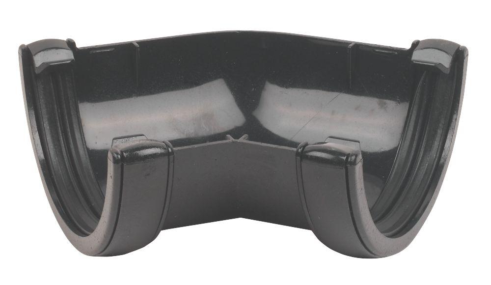 Image of FloPlast Cast Iron Effect 135 Angle 112mm Black