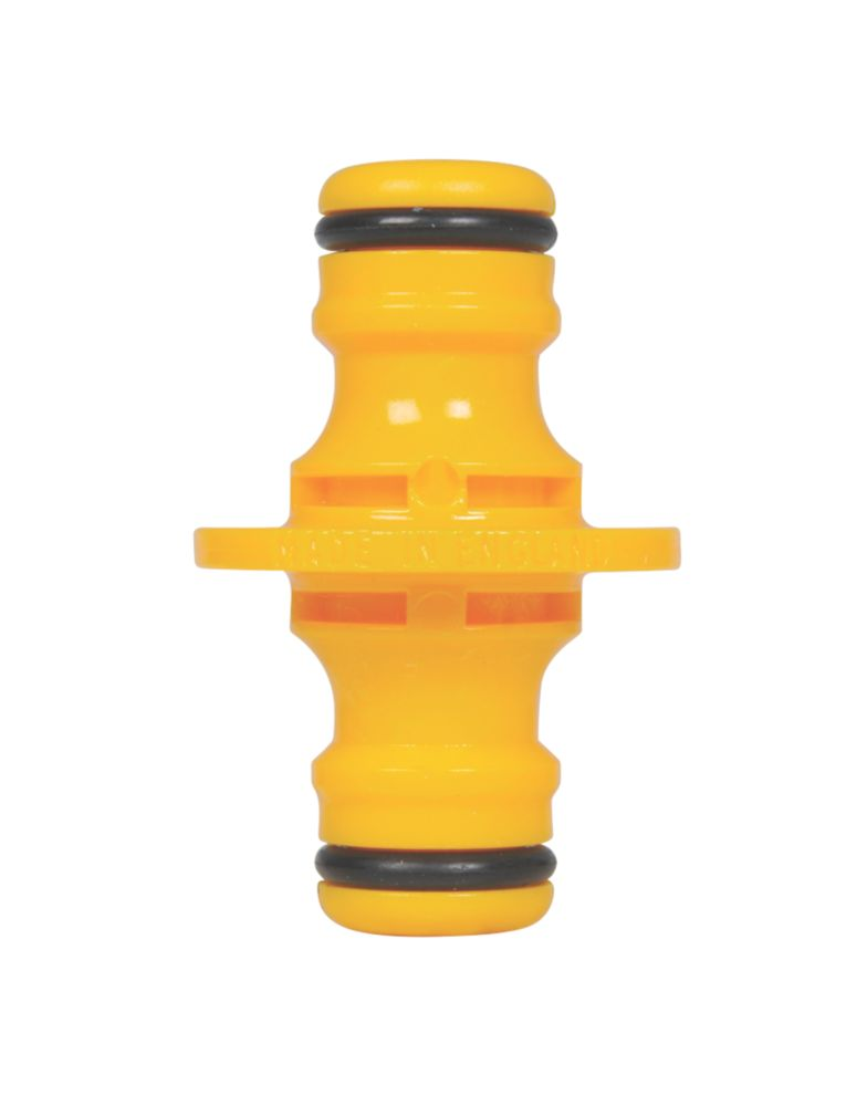Image of Hozelock Double-Ended Male Hose Connector