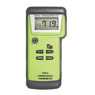 Image of TPI 343 K-Type Digital Thermometer