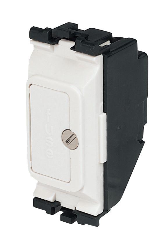 Image of MK 13A Fuse Unit Grid Module White