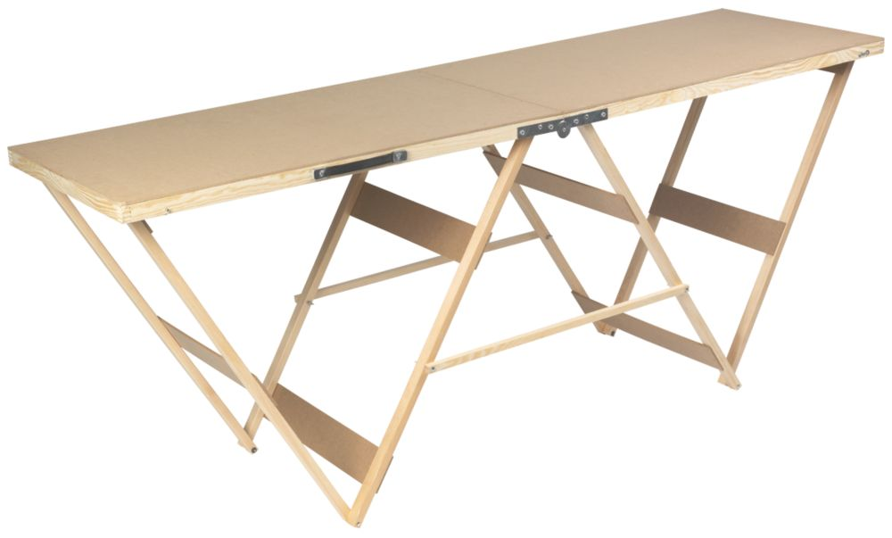 Decorators Table Professional Mdf Top Pasting Table 1000 X 560 X 800Mm  Pasting