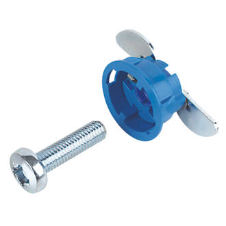 Image of GripIt Blue Plasterboard Fixings 25 x 14mm 8 Pack