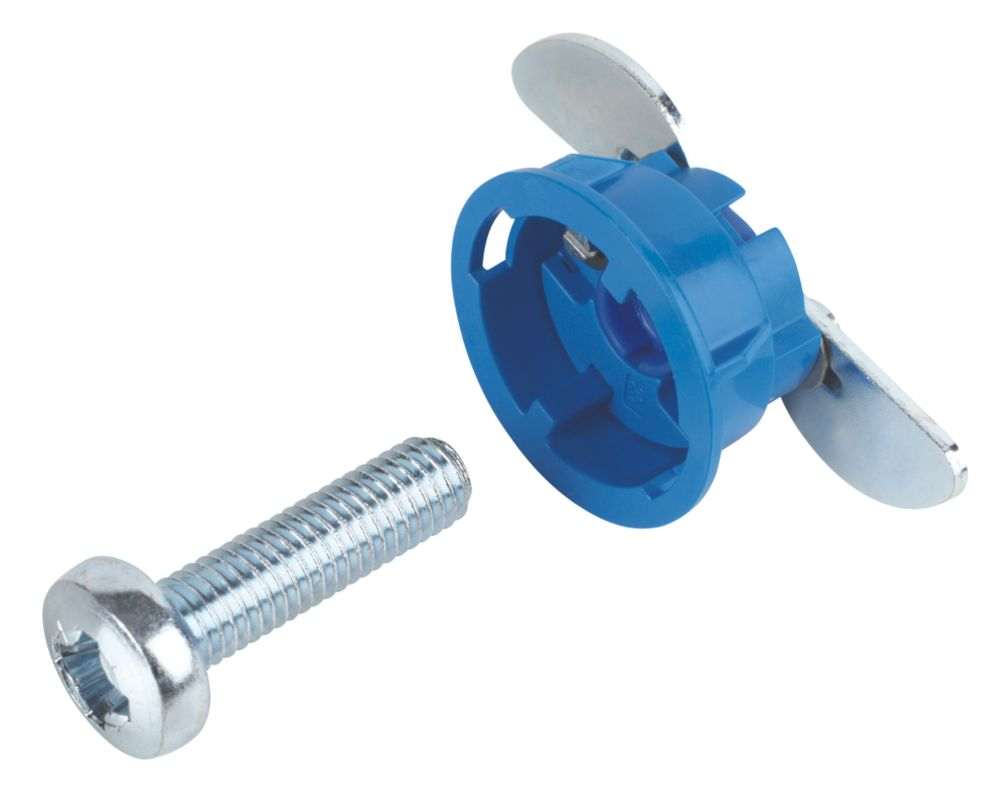 Image of GripIt Blue Plasterboard Fixings 25 x 20mm 8 Pack