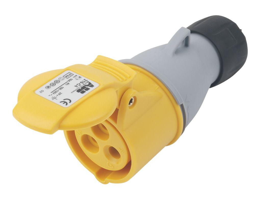 Image of ABB Connector 16A 2P+E 110V 4H IP44