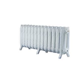 Image of Arroll 3-Column Cast Iron Radiator 470 x 1074mm White