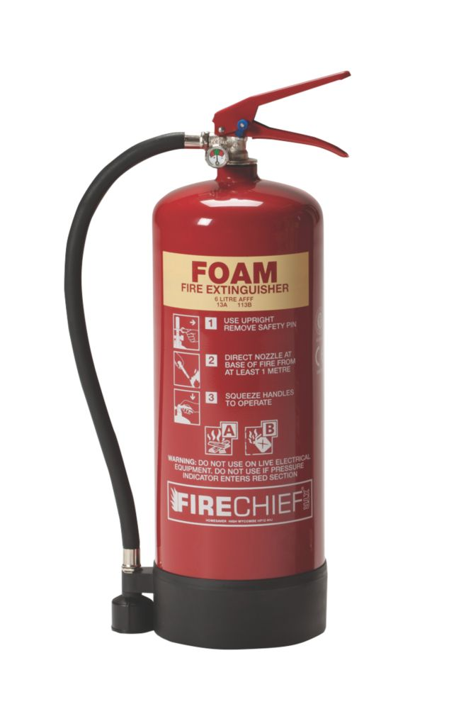 Image of Firechief Foam Fire Extinguisher 6Ltr