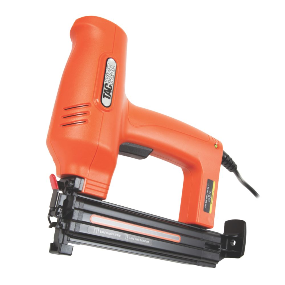Image of Tacwise DUO 35mm Corded Nailer / Stapler 230V