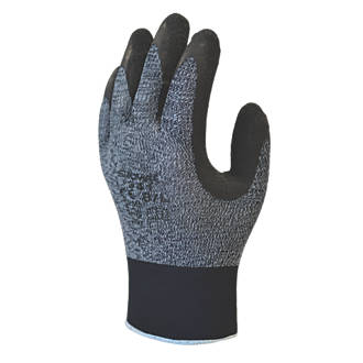 Image of Showa 341 Advanced Grip 341 Advanced Grip Gloves Grey/Black Large