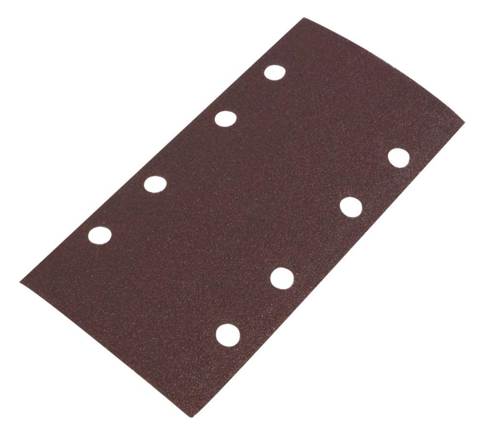 Image of Flexovit ? Sanding Sheets Punched 93 x 185mm 60 Grit 6 Pack