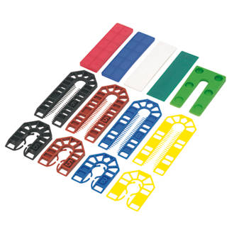 Image of Broadfix Assorted Levelling Kit One Size 200 Pcs