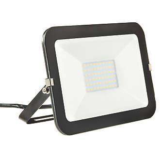 Image of Brackenheath iSpot LED Slimline Floodlight 50W Black Cool White