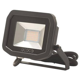 Image of Luceco LFS12B150 LED Slim Floodlight 15W Black Cool White