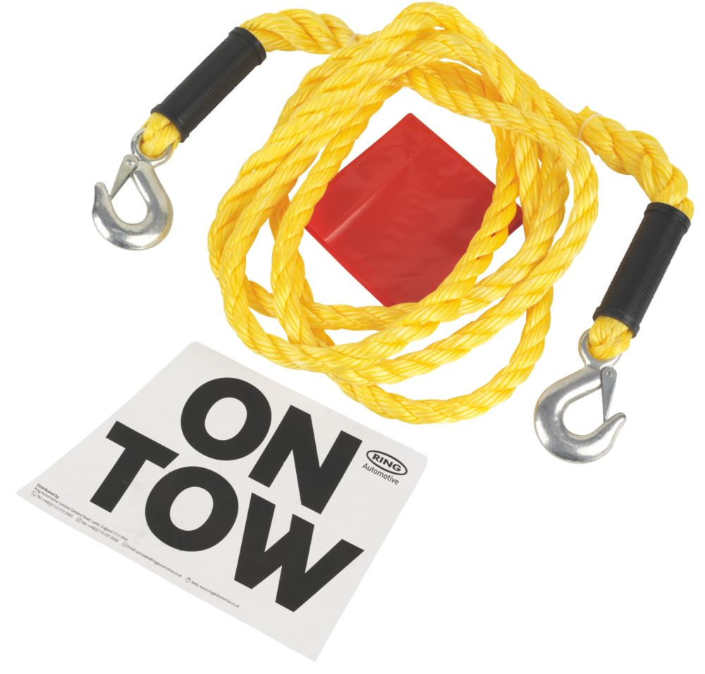Image of Ring 3.5-Tonne Heavy Duty Tow Rope 4m