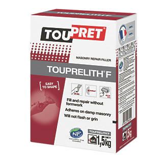 Image of Toupret Touprelith F Exterior Masonry Repair Filler 1.5kg