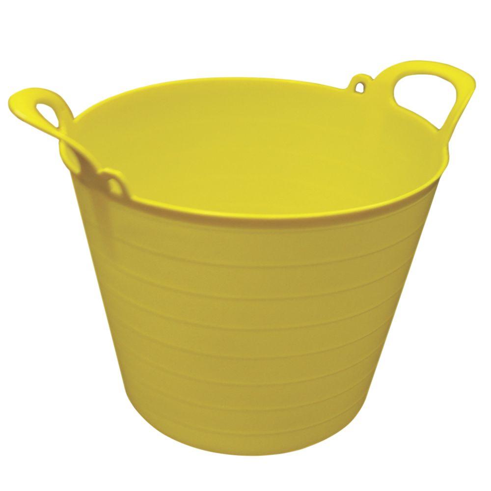 Image of NDC Polythenes Flexi-Tub Yellow 26Ltr