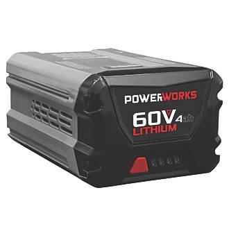 Image of Powerworks P60B4 2900513 60V 4.0Ah Li-Ion Battery
