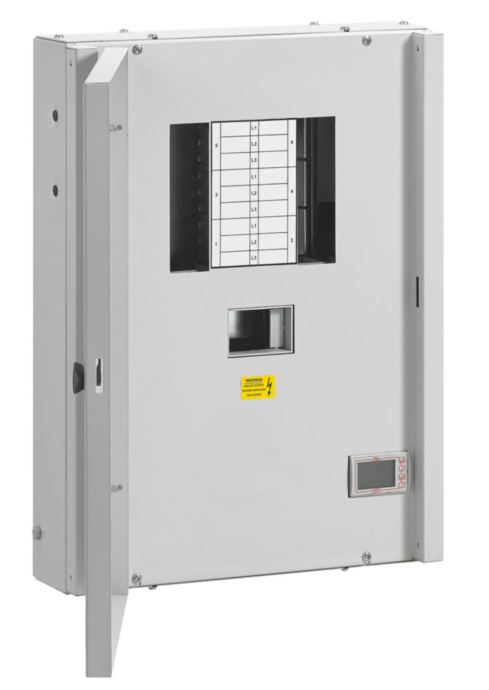 Image of Havells 6-Way 125A Metered TP & N Board without Incomer