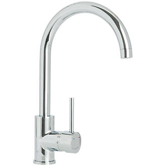 Cooke and Lewis Mono Mixer Kitchen Tap Chrome | Kitchen Mixer Taps ...