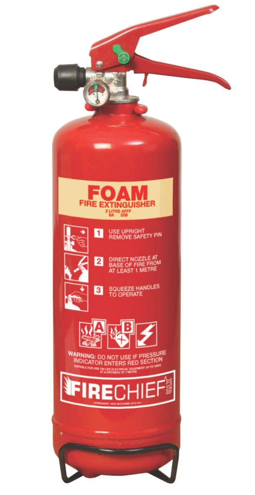 Image of Firechief XTR Foam Fire Extinguisher 2Ltr