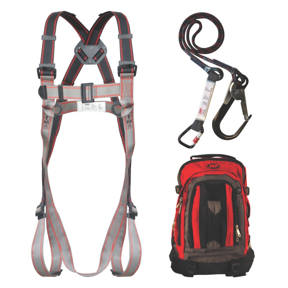 Image of JSP Pioneer Single Tail Fall Arrest Kit with 2m Lanyard