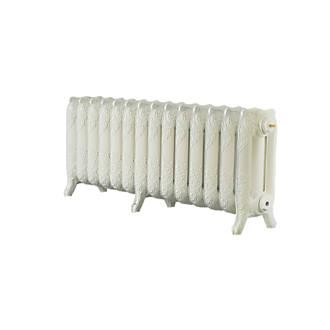 Image of Arroll 3-Column Cast Iron Radiator 470 x 1154mm Cream