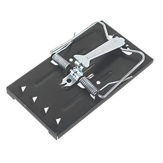 Image of Pest-Stop Easy-Setting Metal Rat Traps 2 Pack