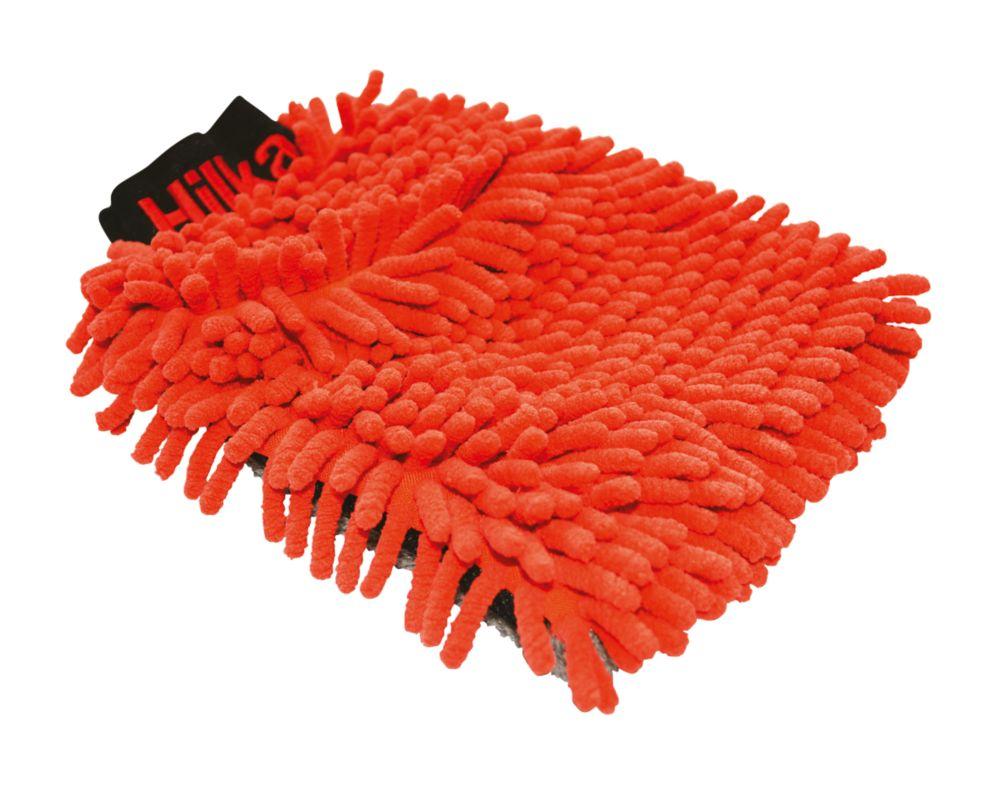 Image of Hilka Pro-Craft Polyester & Nylon 2-in-1 Noodle Wash Mitt
