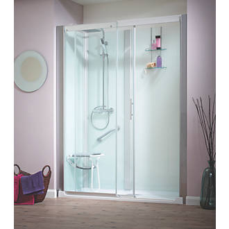 Saniflo Kinemagic All-In-One Shower Enclosure 1600 x 700 x 2110mm ...