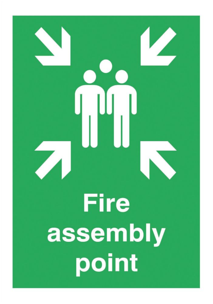 """Image of Fire Assembly Point"""" Sign 420 x 297mm"""