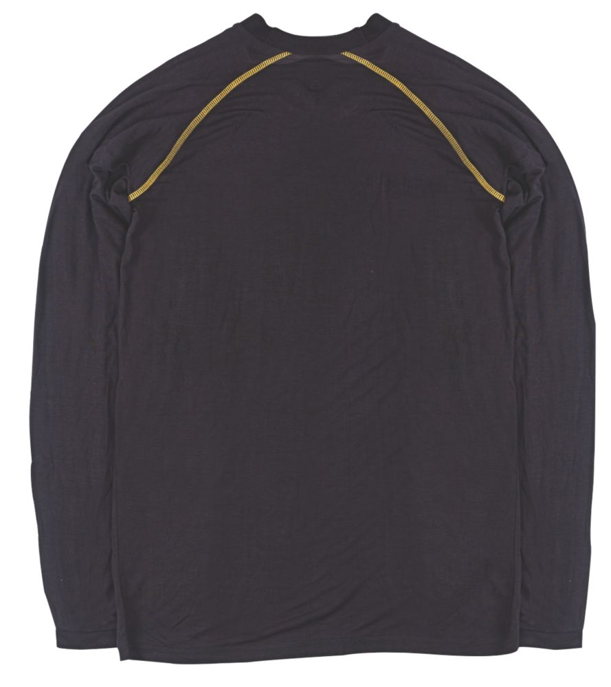"""Image of Site Base Layer Top Black Extra Large 48"""" Chest"""