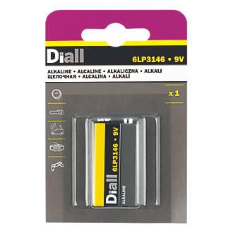 Image of Diall Alkaline 9V Battery